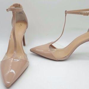 Thalia Sodi Grace Nude Heels